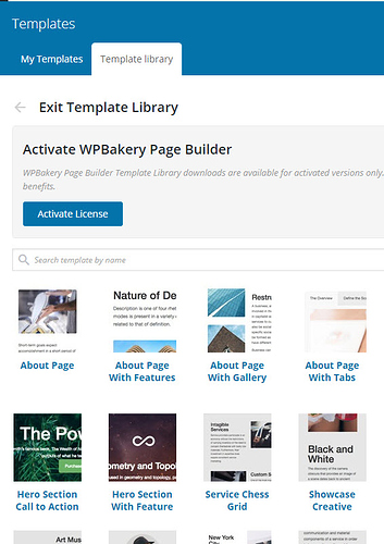 Can't add Visual Composer Template - Support - Apex Forum