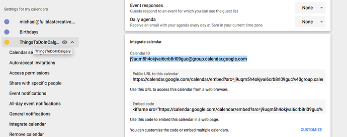 Modern Events Google Cal Sync Error - Support - Apex Forum