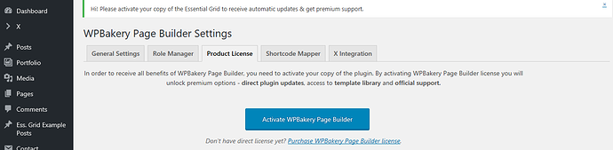 Plugins not activated in x theme - Support - Apex Forum