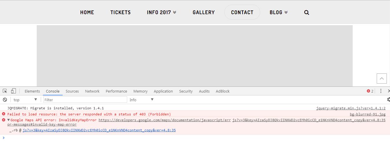 Google Maps Error Message V2 Support Apex Forum