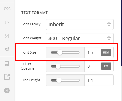 Need help with responsive text in X Theme - Support - Apex Forum