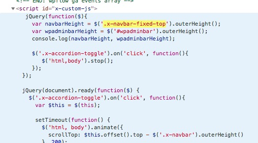 Accordion jQuery scroll to top Chrome - Support - Apex Forum
