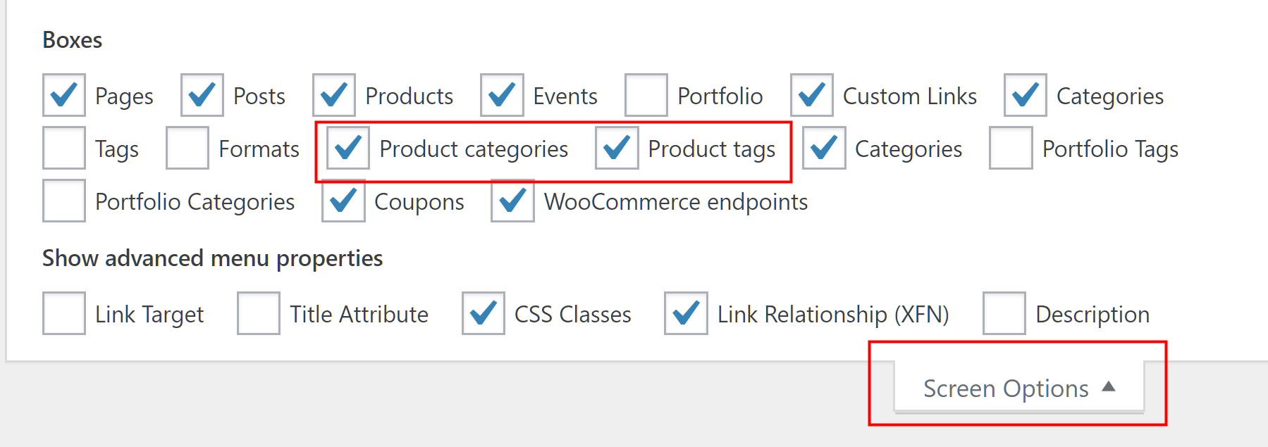 Product Category dropbox in navigation bar - Support - Apex