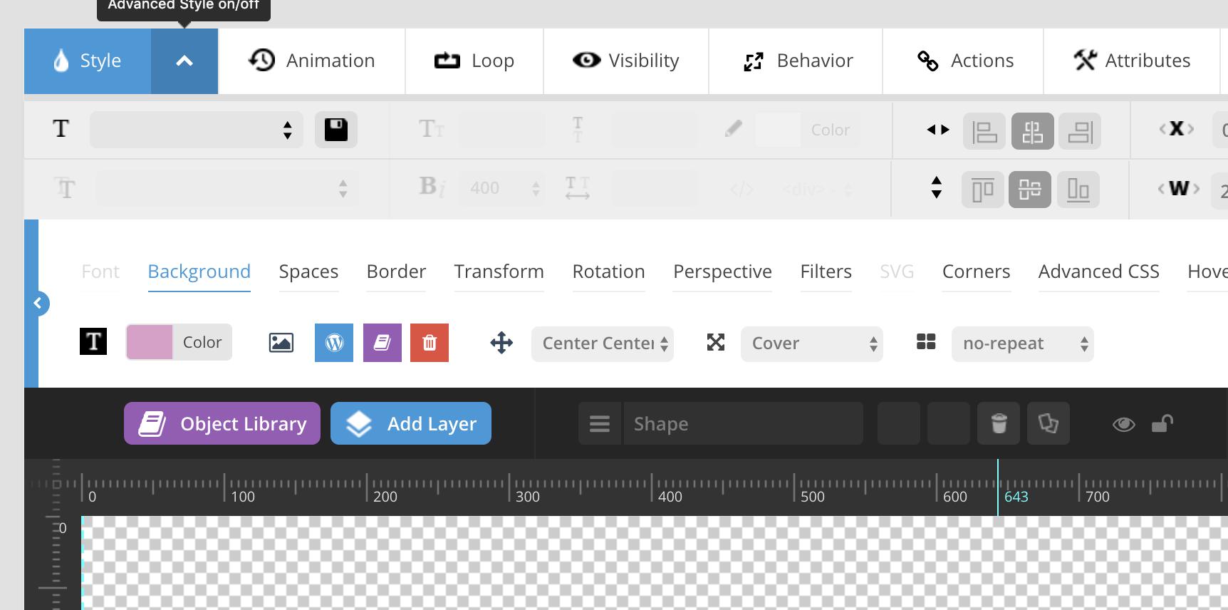 Slider Revolution - Edit+Shape - Support - Apex Forum