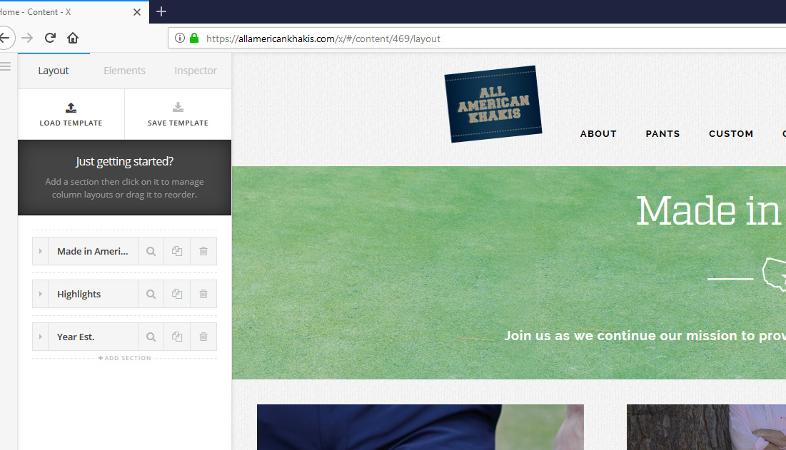 Firefox / Unable to Edit Cornerstone - Support - Apex Forum