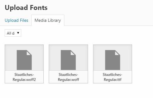 Fontmanager / Custom Fonts /  woff  woff2 - Support - Apex Forum