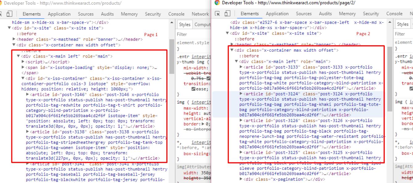 Portfolio Page Display Layout - Support - Apex Forum