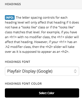 Font Issue - Headings - Support - Apex Forum
